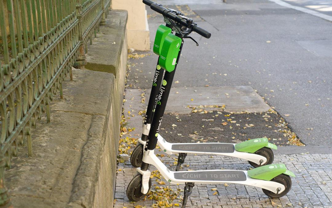 Trottoirs interdits à Paris